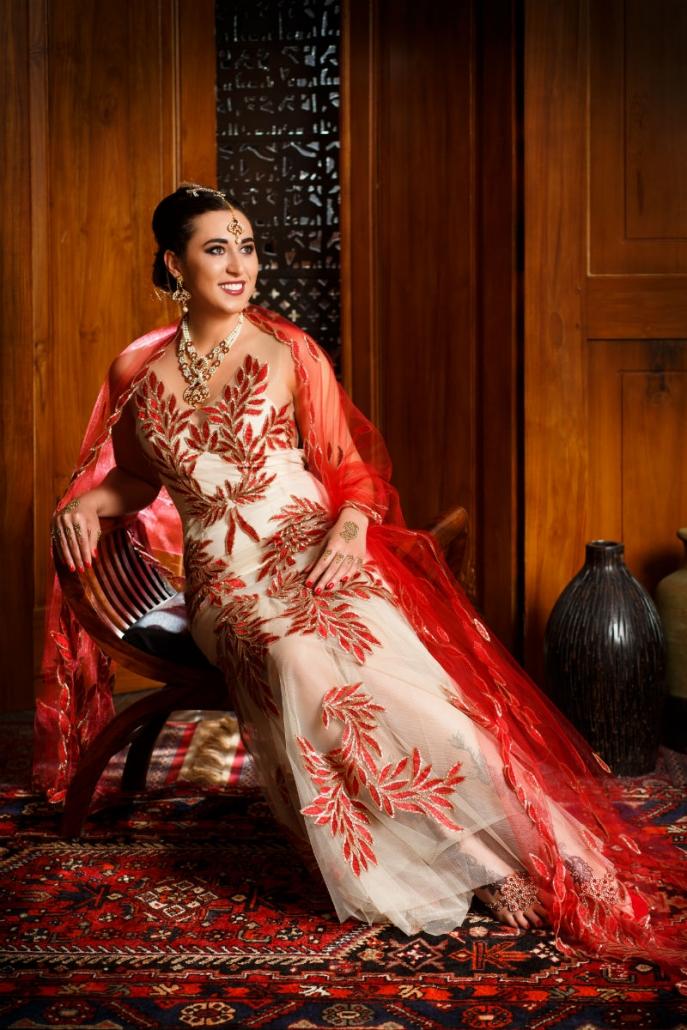 suknia orientalna - showroom Sundari