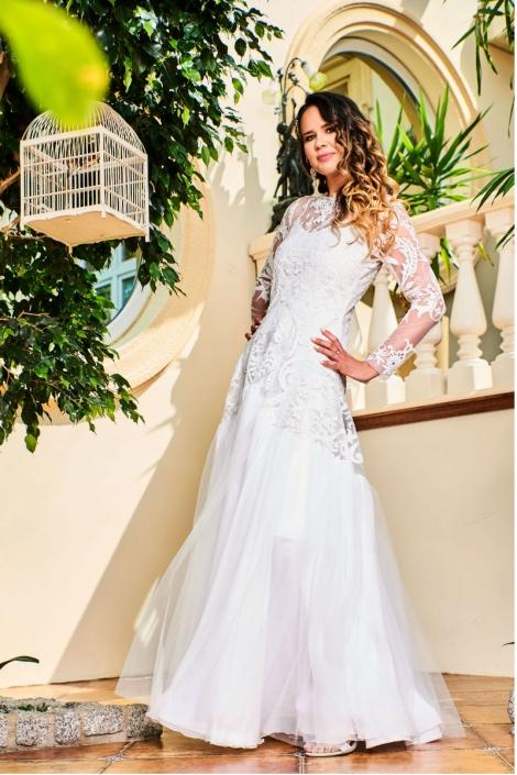 CARLA - suknia ślubna w stylu Boho