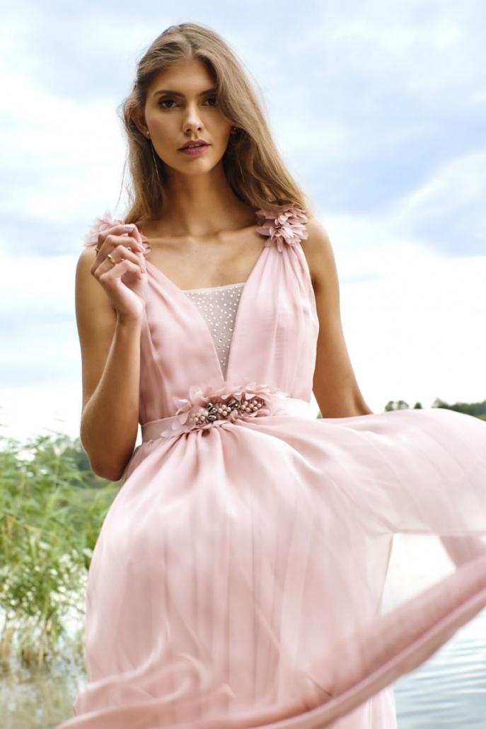 zwiewna sukienka dla druhen Magnolia