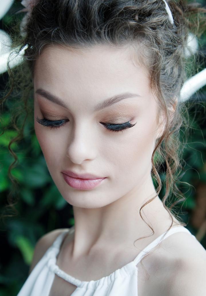 make up ślubny